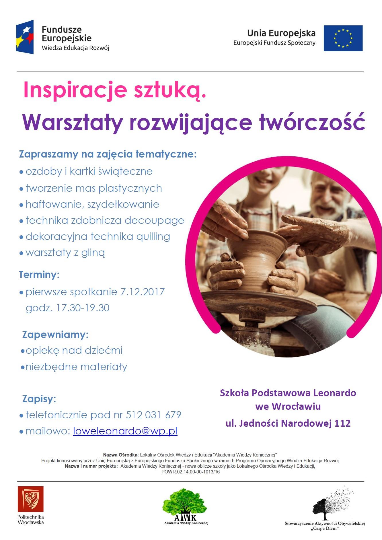 Zaproszenie-na-warsztaty-Inspiracje-sztuka